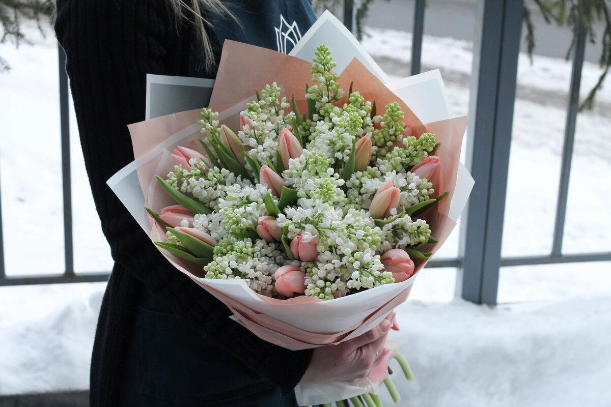 Магазин цветов Cvetok.by Букет «Небо для двоих» - фото 1