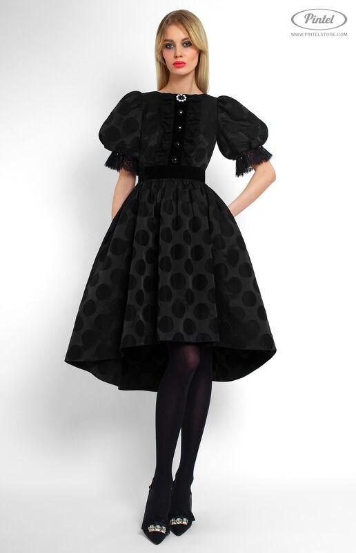 Платье женское Pintel™ Приталенное платье с широкой юбкой Emerissa - фото 2
