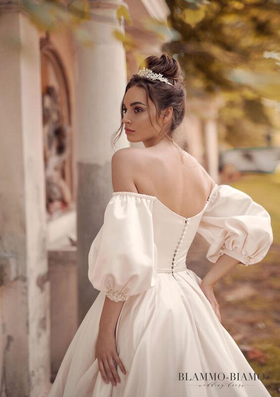 Свадебное платье напрокат Blammo-Biamo Платье свадебное The Rice Medea - фото 3