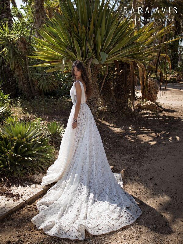 Свадебное платье напрокат Rara Avis Свадебное платье Wild Soul Kuan - фото 4