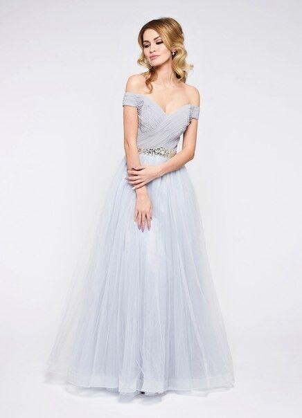 Вечернее платье Jan Steen Вечернее платье 0897 (серебро) - фото 1