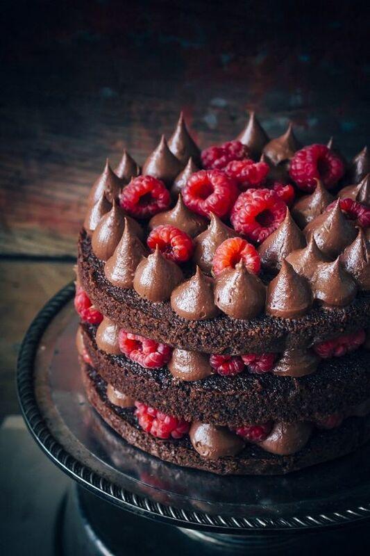 Торт DOLCE Праздничный торт «Мечты о кофе и малине» - фото 1