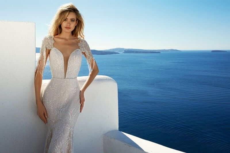 Свадебное платье напрокат Eva Lendel Платье свадебное Bler - фото 3