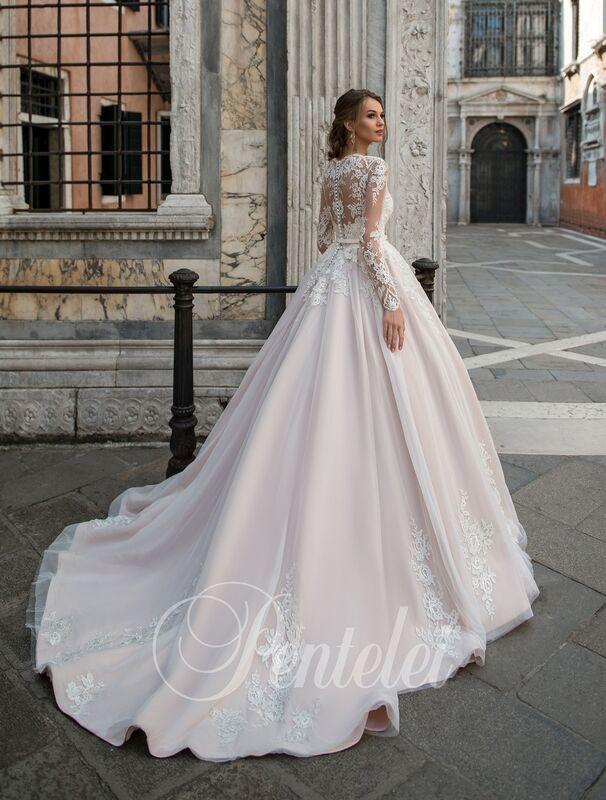 Свадебное платье напрокат Lavender Свадебное платье Jannyfer - фото 3