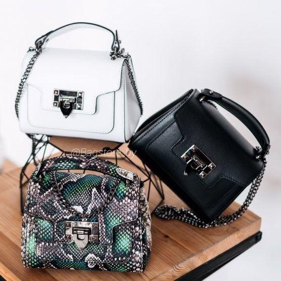 Магазин сумок Vezze Кожаная женская сумка C00470 - фото 3