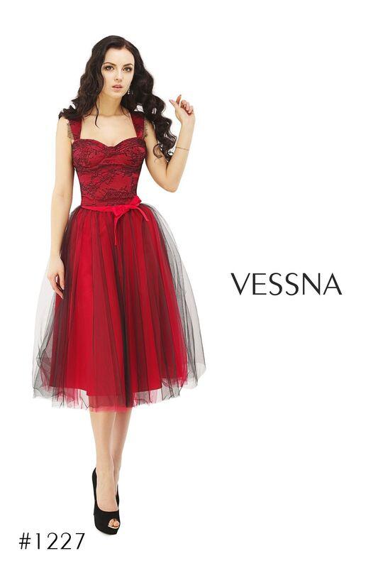 Вечернее платье Vessna Топ и Юбка-пачка арт.1227 из коллекции VESSNA Party - фото 2