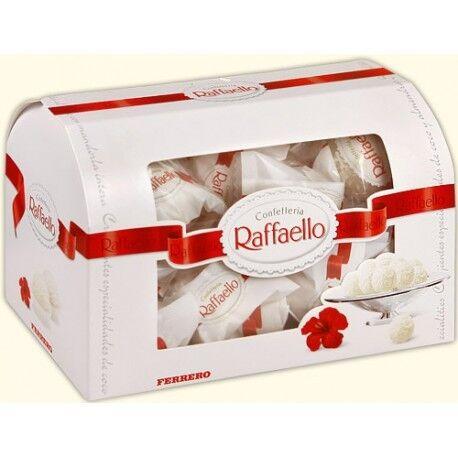 Подарок на Новый год Ferrero Конфеты «Raffaello», 240 гр. (cундук) - фото 1