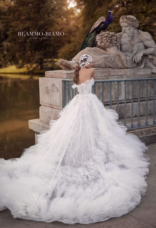 Свадебное платье напрокат Blammo-Biamo Платье свадебное The Rice Asta - фото 4