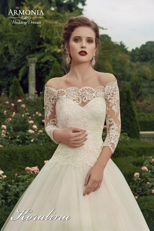 Свадебное платье напрокат Armonia Свадебное платье Koralina - фото 2