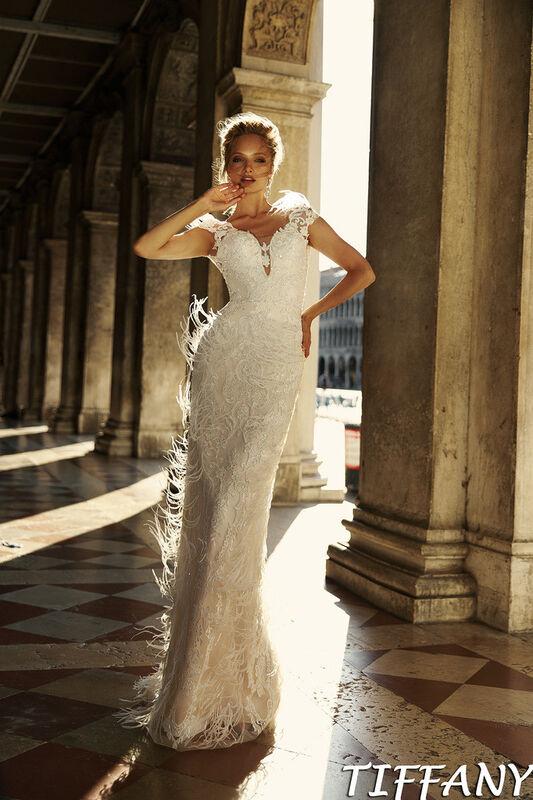 Свадебное платье напрокат Bonjour Galerie Платье свадебное Tiffani из коллекции La Douceur - фото 1