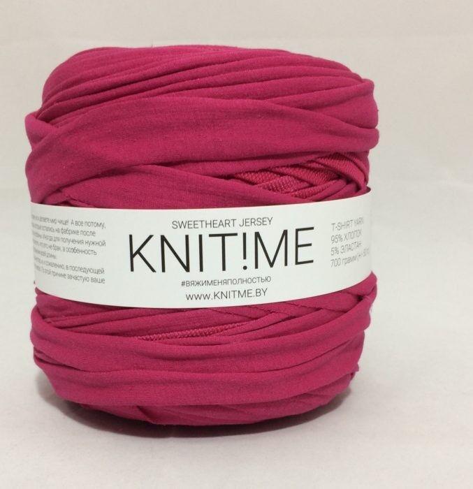 Товар для рукоделия Knit!Me Ленточная пряжа Sweetheart Jersey - SJ448 - фото 1