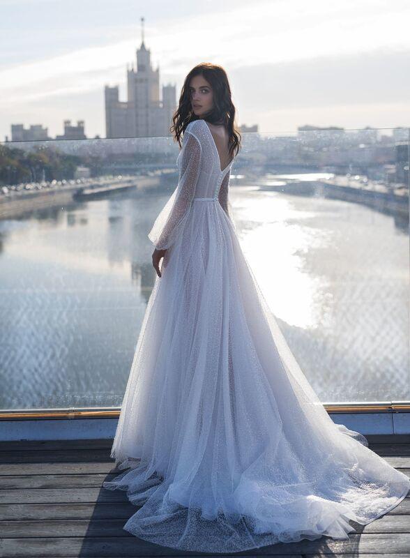 Свадебное платье напрокат Natalia Romanova Свадебное платье  Mone - фото 2