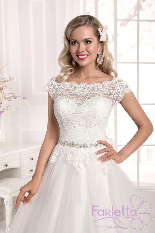 Свадебное платье напрокат Farletta Платье свадебное Laur - фото 1