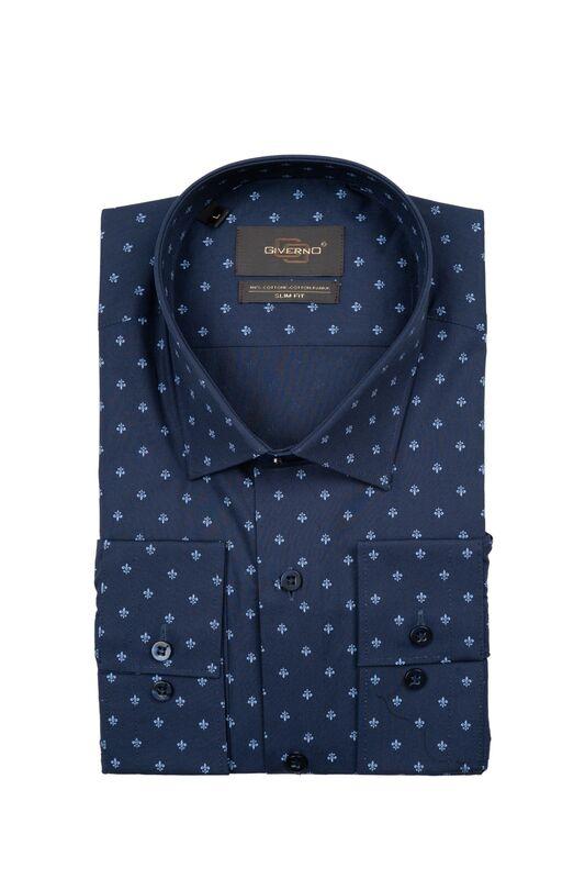 Кофта, рубашка, футболка мужская GIVERNO Сорочка верхняя мужская GS131 - фото 1