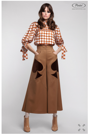Костюм женский Pintel™ Комплект из блузы и брюк Akseli - фото 2