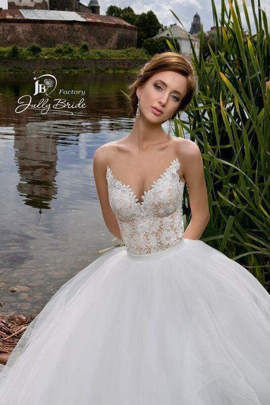 Свадебное платье напрокат Jully Bride Factory Платье свадебное Lanette - фото 1