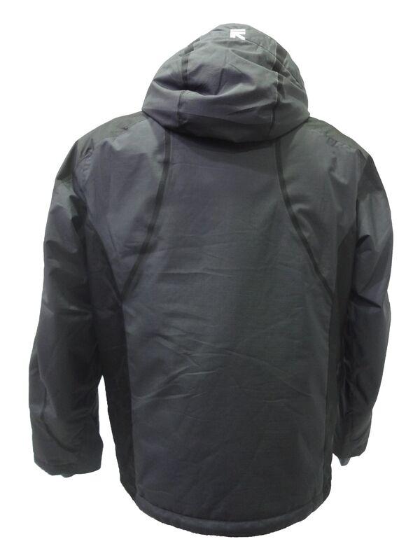 Спортивная одежда Running River Мужская горнолыжная мембранная куртка темно-серая - фото 2