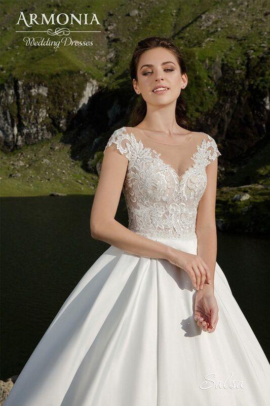 Свадебное платье напрокат Armonia Свадебное платье Salsa - фото 2