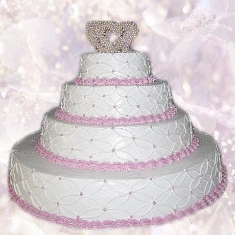 Торт Милано Свадебный торт №12 - фото 1