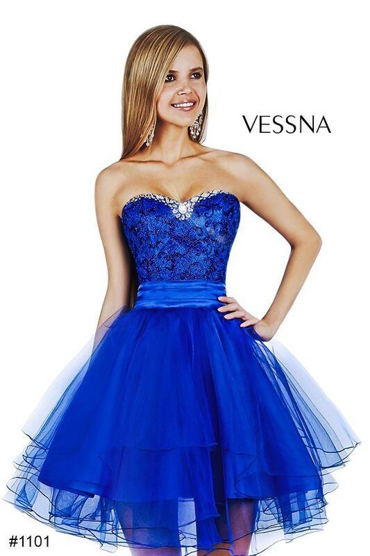 Вечернее платье Vessna Коктейльное платье арт.1101 из коллекции vol.1 & vol.2 & vol.3 - фото 1