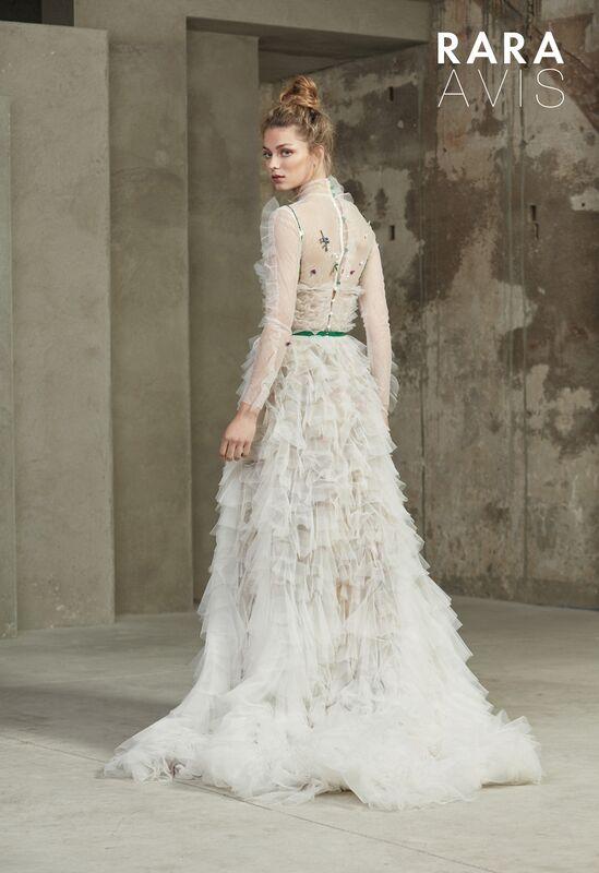 Свадебное платье напрокат Rara Avis Платье свадебное Floral Paradise Malina - фото 2