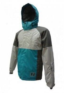 Спортивная одежда Free Flight Мужская мембранная горнолыжная куртка серая - фото 1