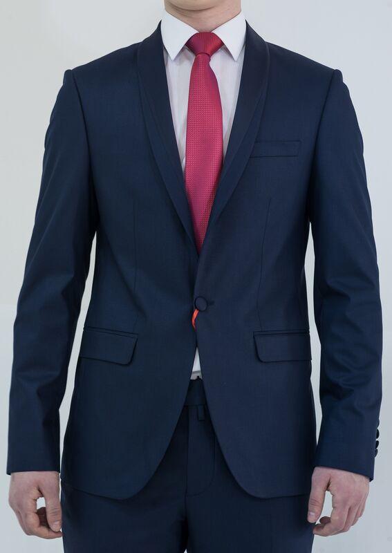 Костюм мужской AKCENT Смокинг мужской синий - фото 1