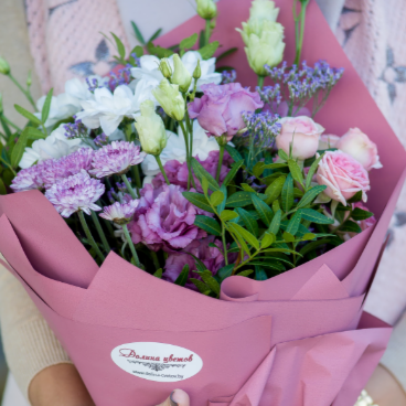 """Магазин цветов Долина цветов Букет  """"Прикосновение"""" - фото 1"""