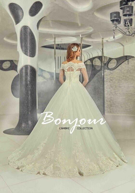 Свадебное платье напрокат Bonjour Платье свадебное «Carli» из коллекции LAMBRE 2017 - фото 2