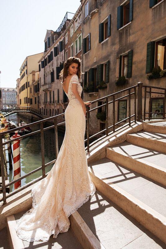 """Свадебное платье напрокат ALIZA свадебное платье  """"Genevry"""" - фото 3"""