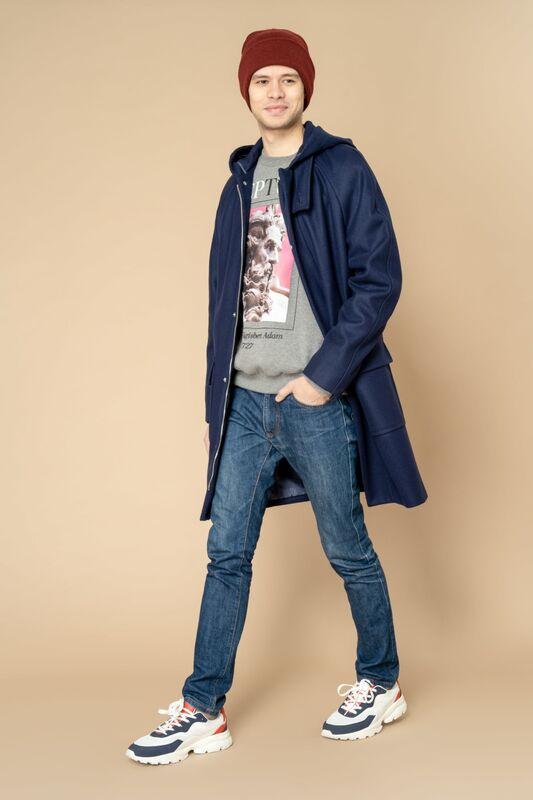 Верхняя одежда мужская Etelier Пальто мужское демисезонное 1М-8888-1 - фото 3