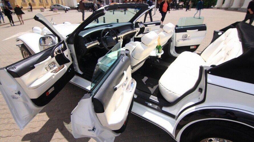 Прокат авто Excalibur Белый - фото 10