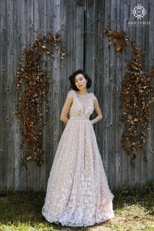 Свадебное платье напрокат Ange Etoiles Платье свадебное AEriality Collection Fern - фото 1