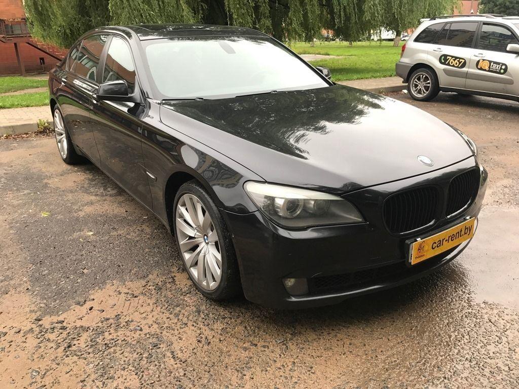 Прокат авто BMW 740 - фото 3