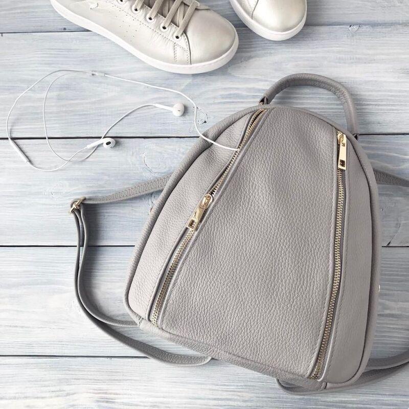 Магазин сумок Vezze Кожаный рюкзак C00182 - фото 1