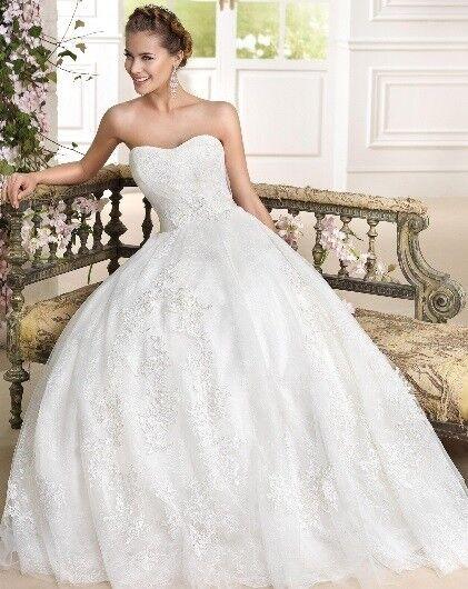 Свадебное платье напрокат Fara Sposa Платье свадебное 5925 - фото 1