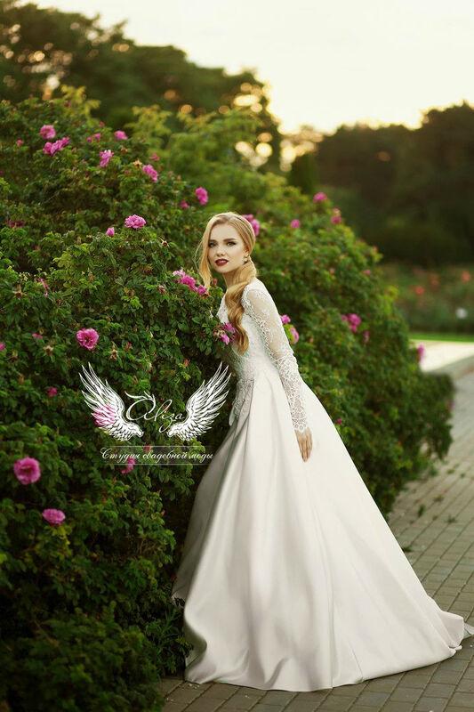 Свадебный салон ALIZA Платье свадебное «Грация» Soffito - фото 6