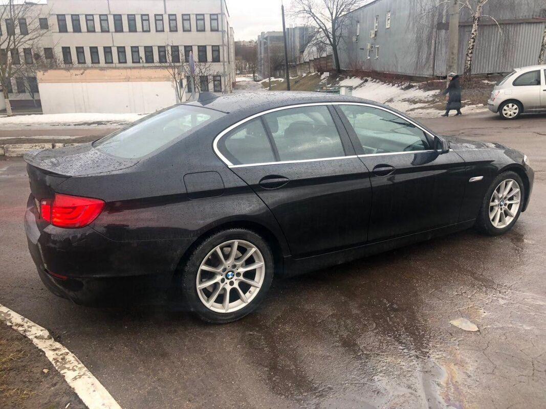 Прокат авто BMW 5 series F10 2010 г.в. - фото 2