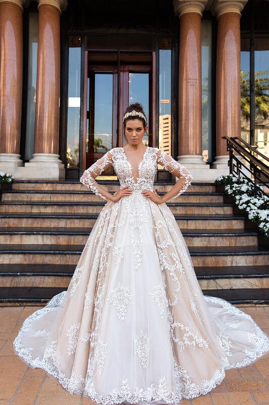 Свадебный салон Crystal Свадебное платье Chantale - фото 1