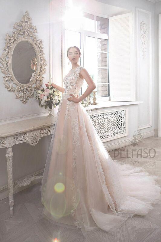 Свадебное платье напрокат Belfaso Платье свадебное Imodjin - фото 1