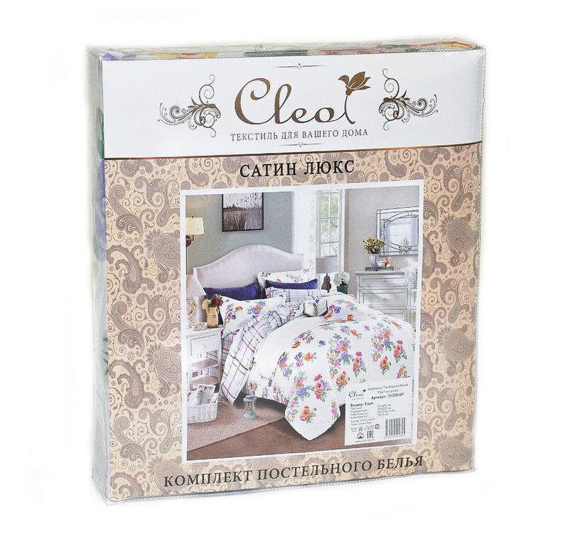 Подарок Cleo Сатиновое постельное белье евро арт. 31/406-SL - фото 2