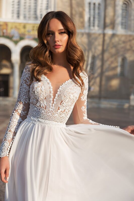 """Свадебное платье напрокат ALIZA свадебное платье """"Hiltomy"""" - фото 2"""