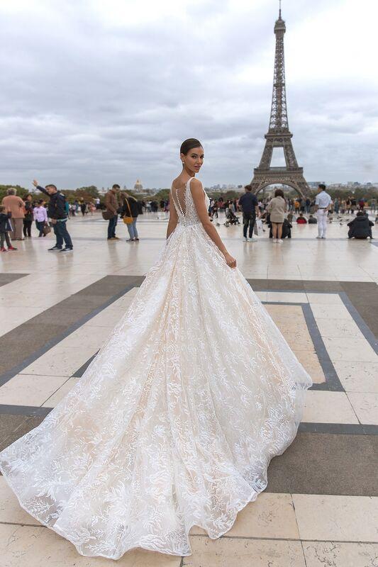 """Свадебное платье напрокат ALIZA свадебное платье """"Dominiky"""" - фото 3"""