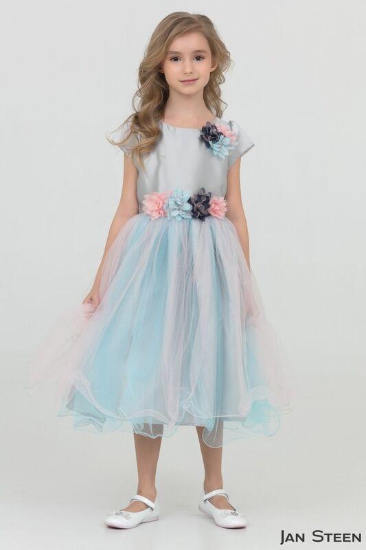 Вечернее платье Jan Steen Детское нарядное платье dz855 - фото 1