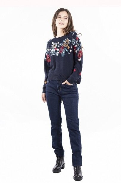 Кофта, блузка, футболка женская SAVAGE Джемпер женский арт. 910737 - фото 2