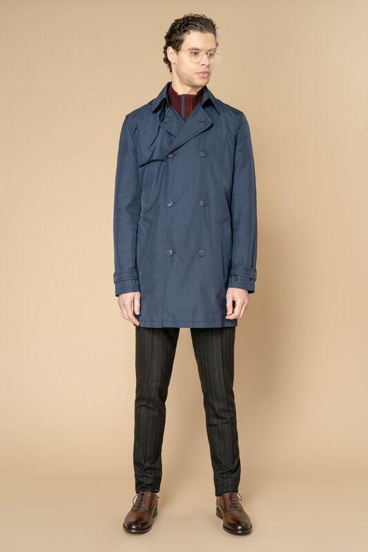 Верхняя одежда мужская Etelier Плащ мужской 2М-8346-1 - фото 6