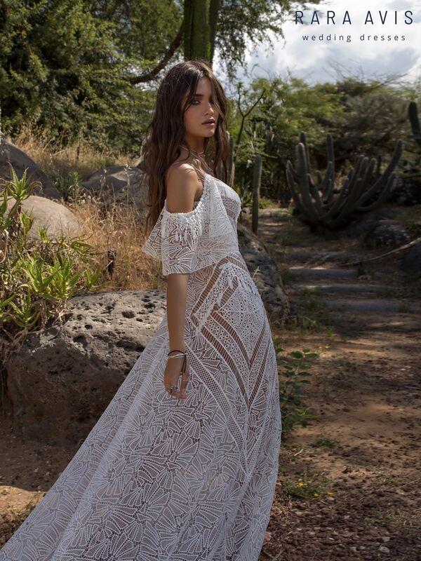 Свадебное платье напрокат Rara Avis Платье свадебное Wild Soul Batist - фото 3