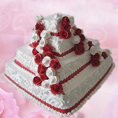 Торт Милано Свадебный торт №1 - фото 1