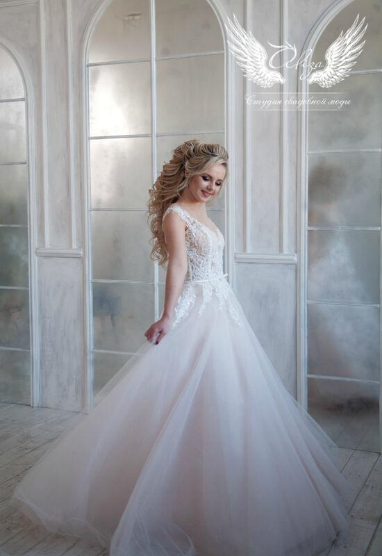 Свадебный салон ALIZA Платье свадебное «Lyuchiya» Soffito - фото 1