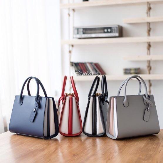 Магазин сумок Vezze Кожаная женская сумка C00456 - фото 3